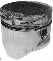 Отполированный излом поршневого кольца