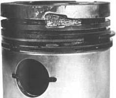 Направляющие фаски поршневого кольца