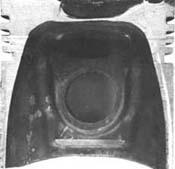 Поршень двигателя с вихрекамерой